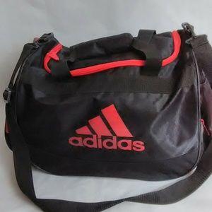 Adidas Defense Large Duffle/Gym Workout Bag Black